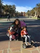 Arc De Triomfe in Barcelona