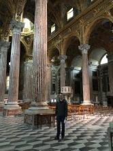 Church in Genoa, Italy