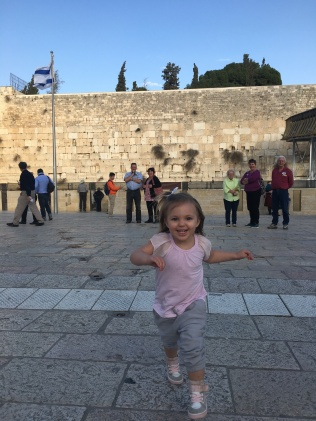 Fun at Western Wall