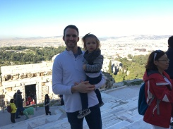 On top of the acropolis