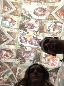Sistine Selfie